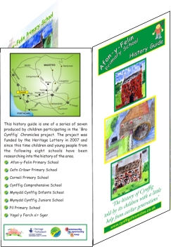 History trail leaflets